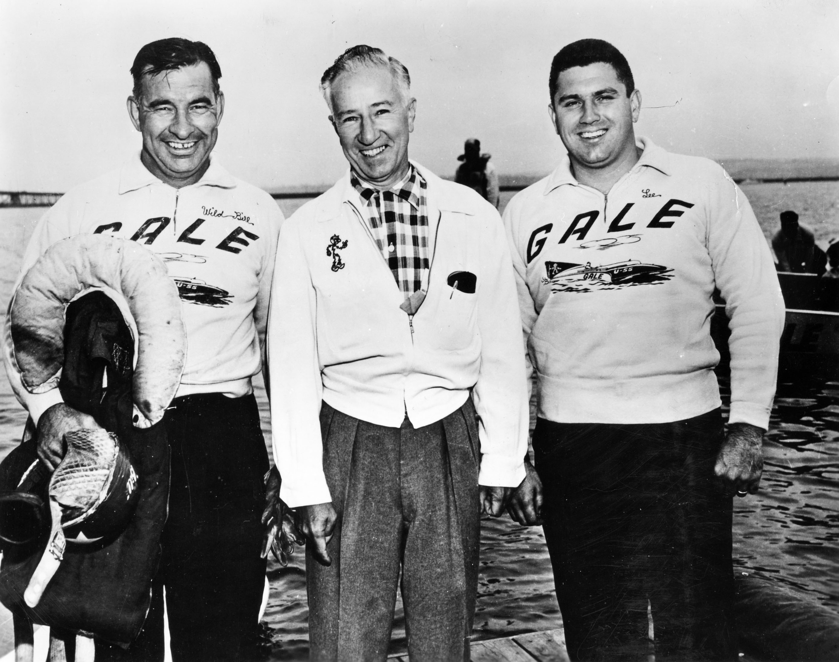 The Gale team of Bill Cantrell (left), Joe Schoenith (center) and Lee Schoenith.