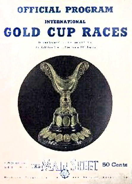 1946 APBA Gold Cup Programme Guide